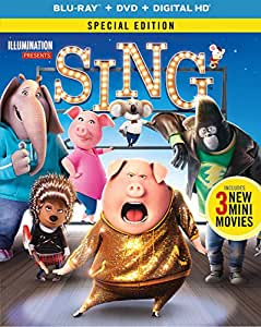 Sing - Special Edition (Blu-ray + DVD + Digital HD)