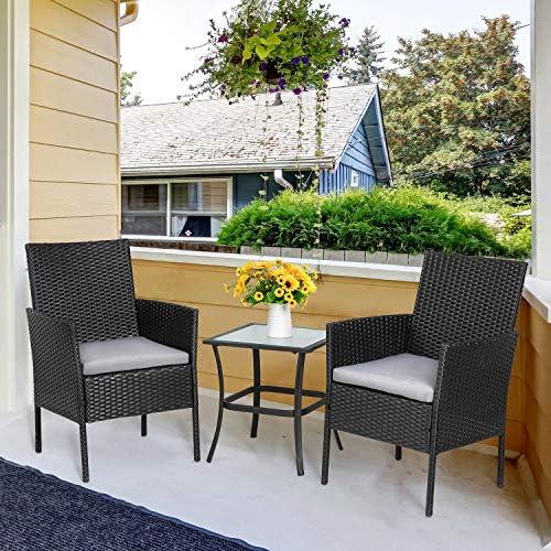 Vongrasig 3-Piece Porch Furniture Sets