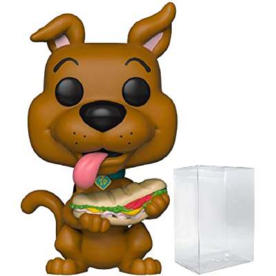 Funko Animation: Scooby Doo - Scooby Doo with Sandwich Pop! Vinyl Figure (Includes Compatible Pop Box Protector Case): Toys & Games