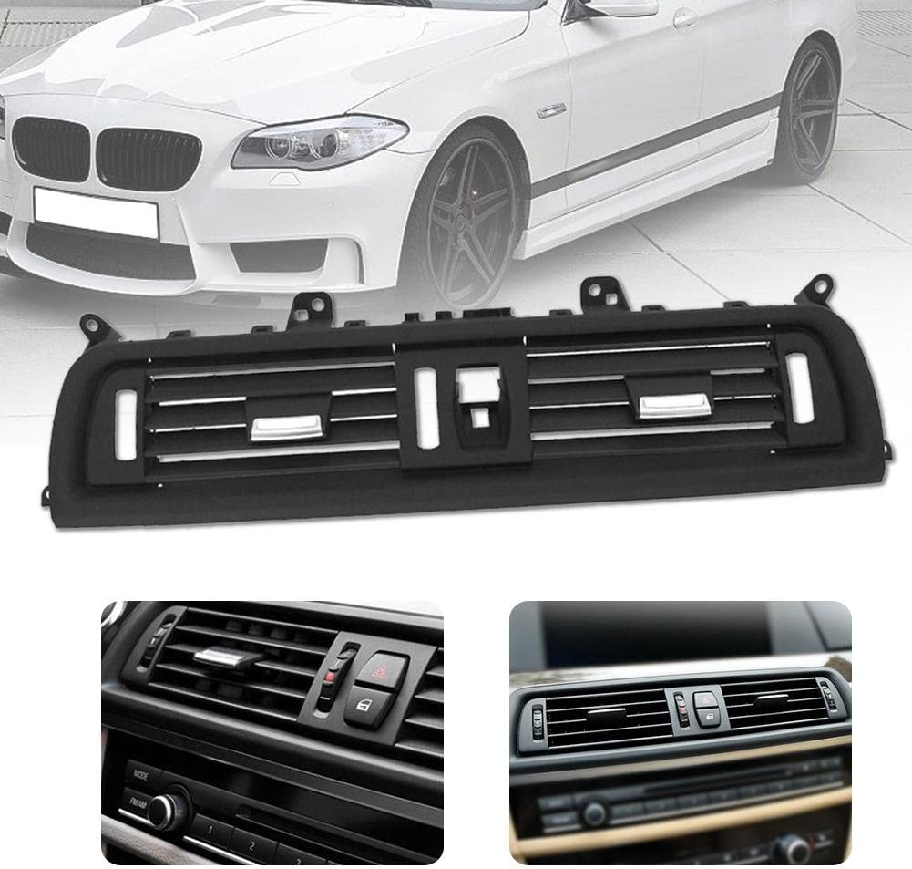 Anysell88 Car Center A//C Air Outlet Vent Panel Grille Cover for BMW 5 Series F10 F18