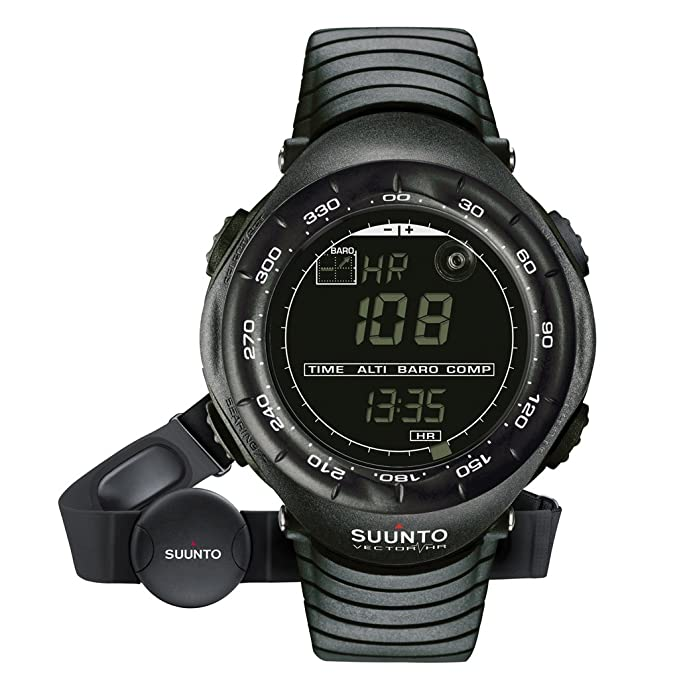 5 opinioni per Suunto Vector HR nero (display negativo + Comfort Belt)