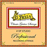LaBella 413P Bronze Classical Guitar Strings, Medium