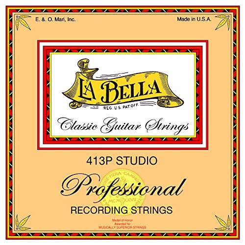 LaBella 413P Bronze Classical Guitar Strings, Medium from La Bella
