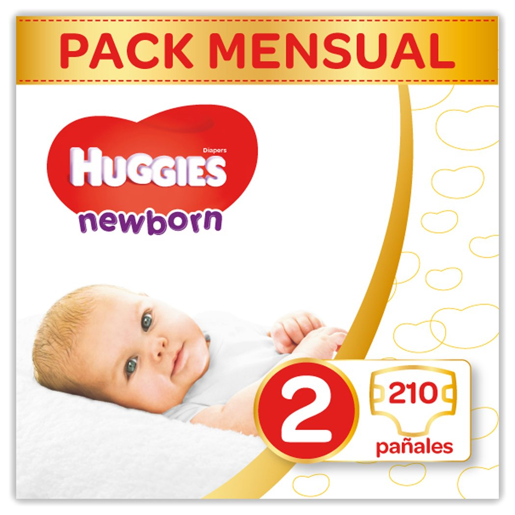 Huggies Newborn Pañales Recién Nacido Talla  kg Pañales