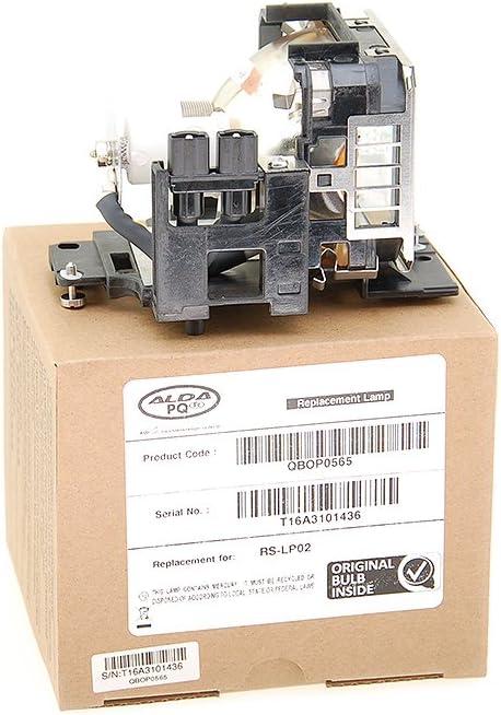 Markenlampe mit PRO-G6s Geh/äuse Beamerlampe f/ür CANON RS-LP02 Projektoren Alda PQ Original