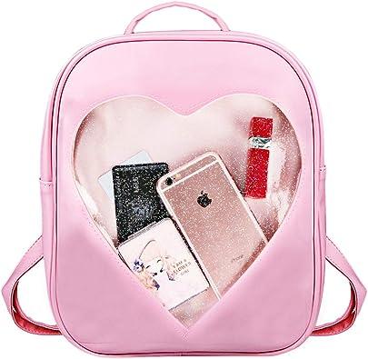 Children Rainbow Printed Shoulder Bag Schoolbag Bookbag Pattern A Kids Unicorn Backpack Large Capacity Cute Lightweight Laptop Storage Bag for Girls Teen Student Travel /& Outdoor Sports Gym