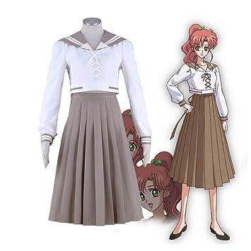 ULLAA Anime Cosplay Sailor Moon Kino Makoto Soleado Moda Traje ...