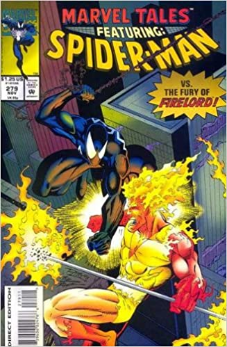 marvel tales featuring spider man vs the fury of firelord 279 nov