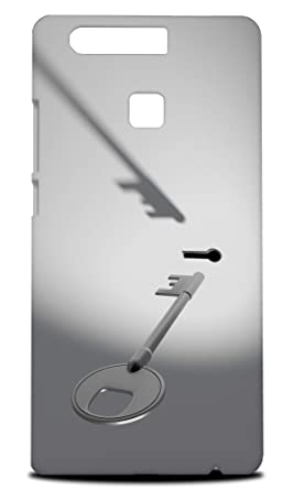 Amazon.com: Key and Keyhole Hard Phone Case Cover for Huawei ...