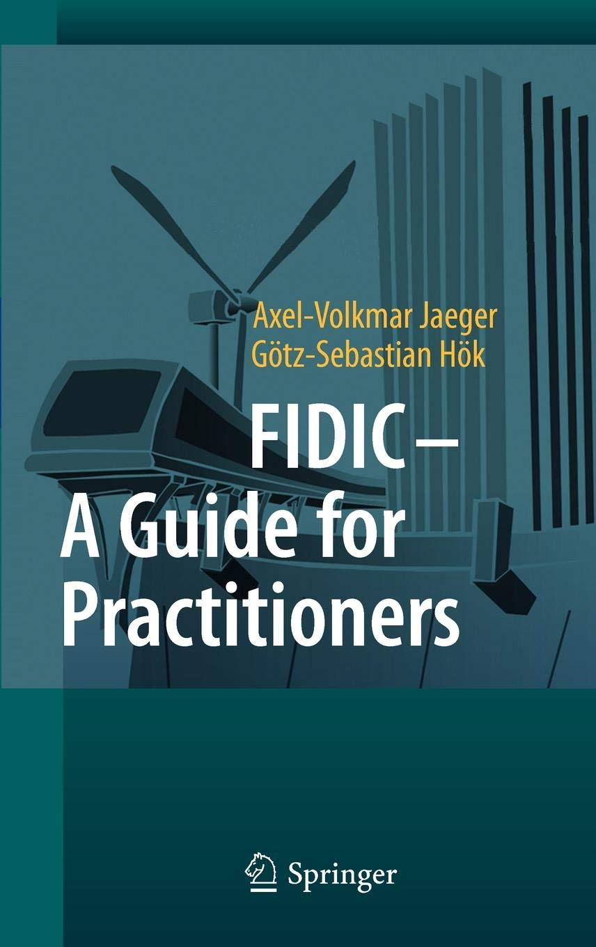 Fidic Silver Book Epc Turnkey Contract