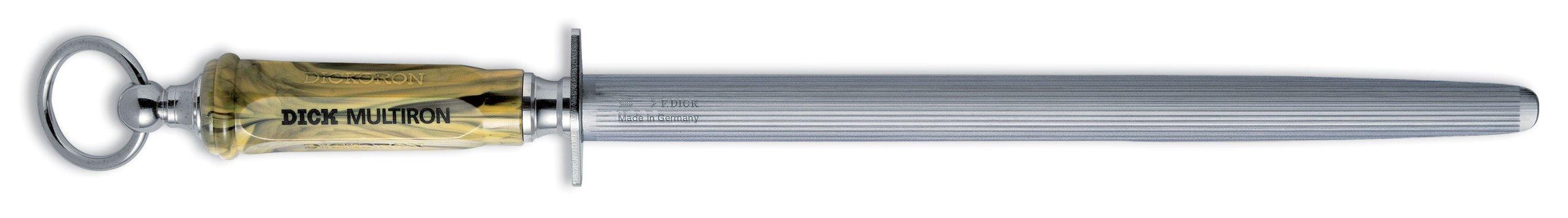 Dick Multiron Sharpening Steel, Fine & Regular Cut, 12-inch, #7650330 by Friedr. Dick Germany