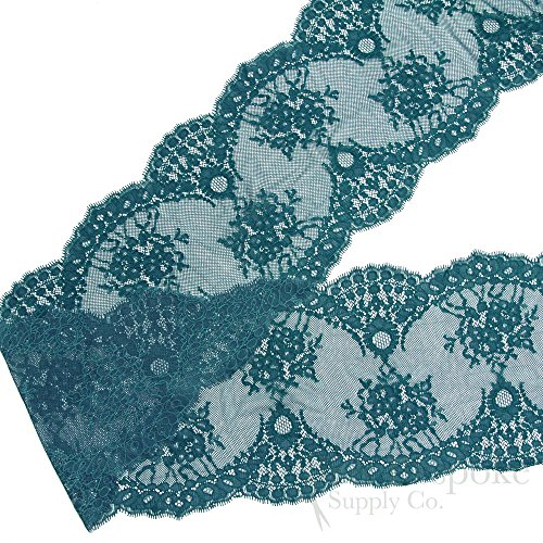 French Leavers Lace - 5 Yards of 7 1/2