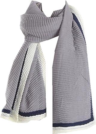 TOPSTORE01 Foulard Couleur Bosse Couleur Châle Cadre Grand Châle Coréen  Chic (Gris)  Amazon.fr  Vêtements et accessoires 0140f5b7e60