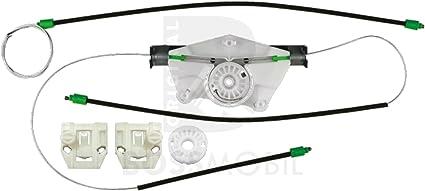 1M2 kit de reparaci/ón de elevalunas el/éctricos Trasero derecho Bossmobil Toledo 2