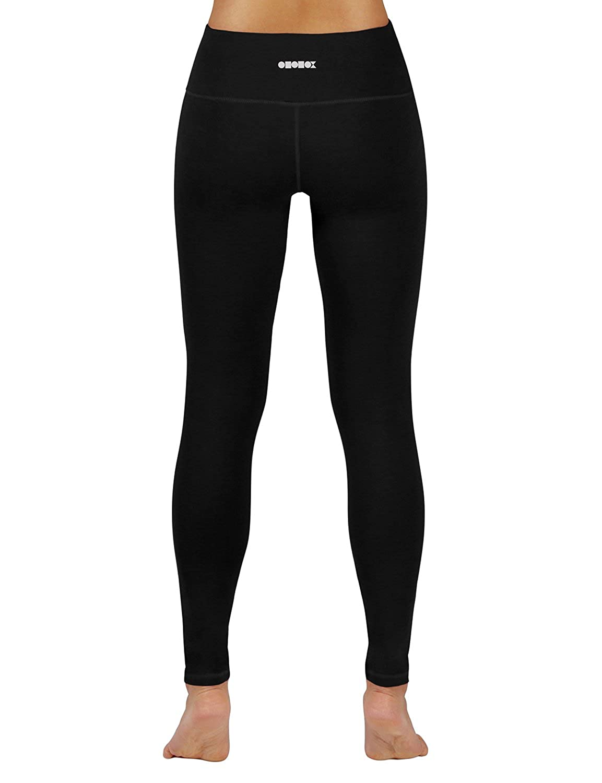 6c50b2717d174 Amazon.com: ODODOS Power Flex Yoga Pants Tummy Control Workout Non  See-Through Leggings with Pocket: Clothing