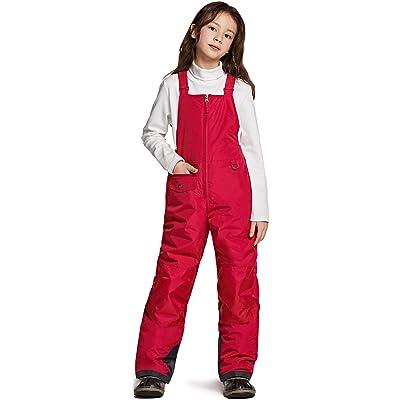 HISEA Kids Snow Bib Overalls Ski Pants Insulated Coveralls Boys Girls