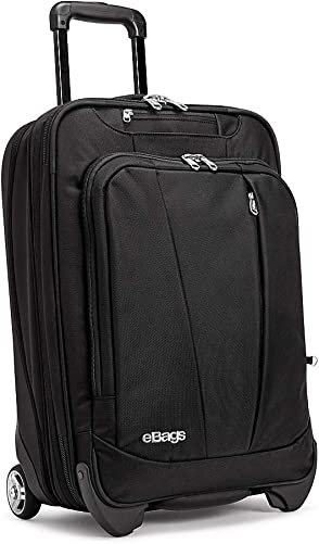 eBags Mother Lode Carry-On Roller 22 Inch Solid Black
