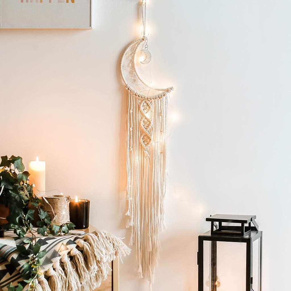 Boho Handmade Chic Tapestry Macrame Woven Wall Hanging Bohemian Home Art Decor