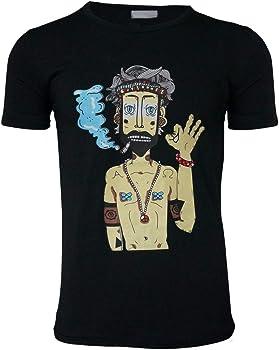 Camiseta para Hombre, YanHoo amiseta de Manga Corta de algodón ...