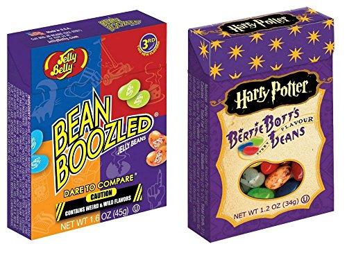 2 Pack BEAN BOOZLED & Harry Potter BERTIE BOTTS Jelly Belly