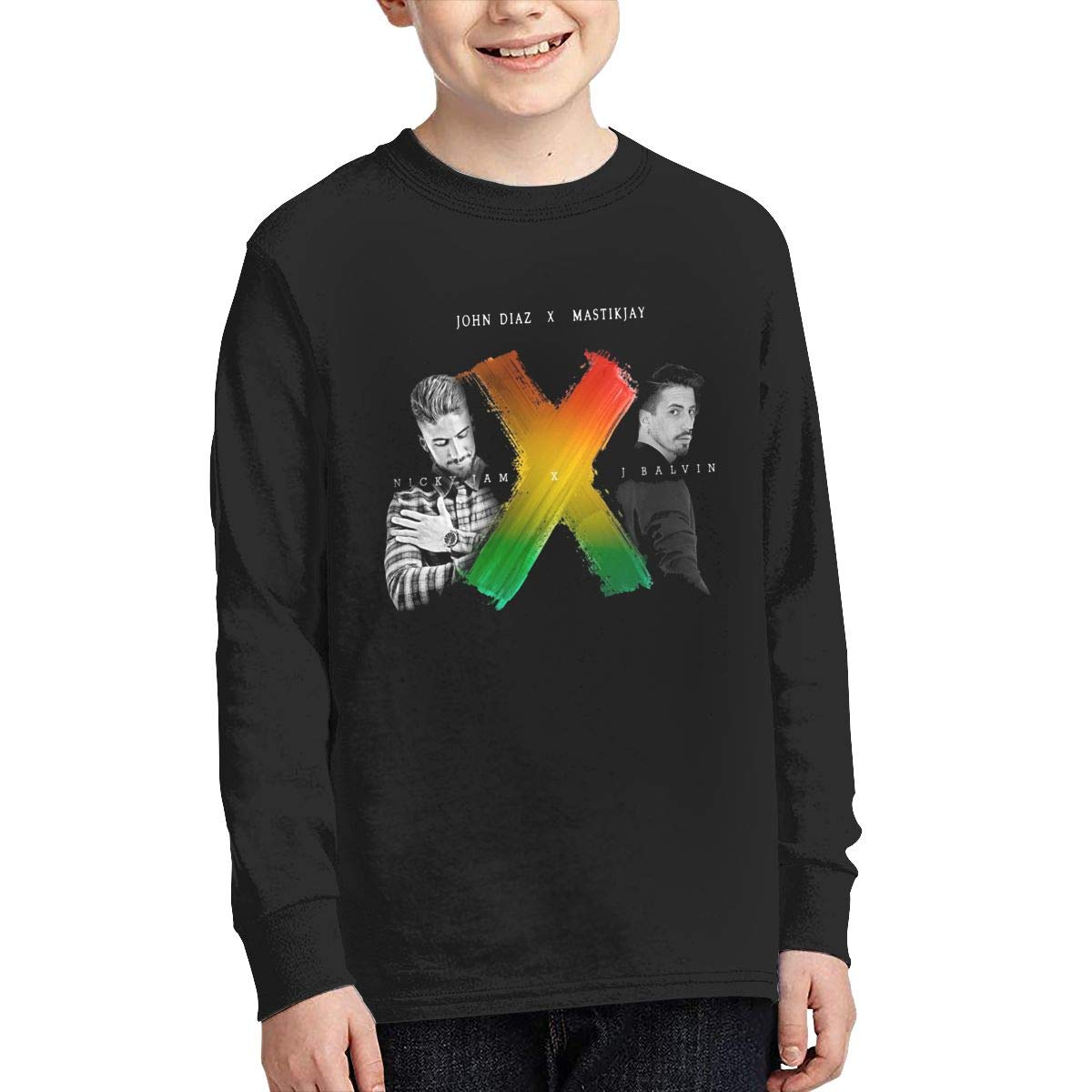 Youth J-Balvin Long Sleeves Shirt Boys Girls