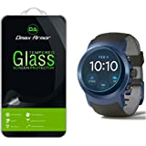 [3-Pack] LG Watch Sport Screen Protector, Dmax Armor [Tempered Glass] 0.3mm 9H Hardness, Anti-Scratch, Anti-Fingerprint, Bubble Free, Ultra-clear