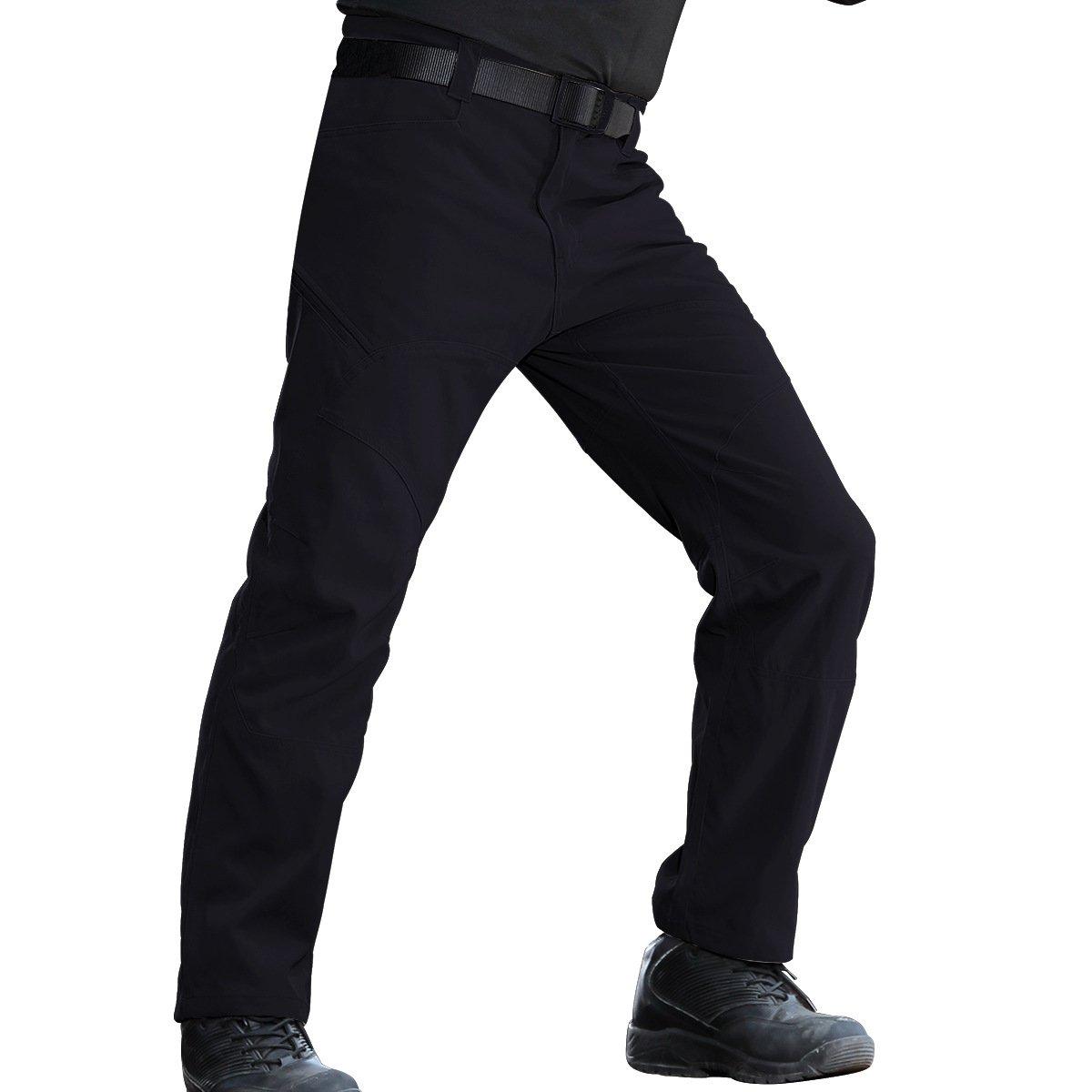 FREE SOLDIER Arbeit Cargo Hose – Herren Tactical Outdoor Leicht Wasserabweisend Elastische Taille Multi Taschen Combat Pants