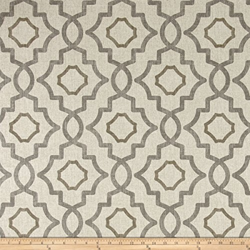 Magnolia Home Fashions Talbot Fabric, Metal (Magnolia Home Fabrics)