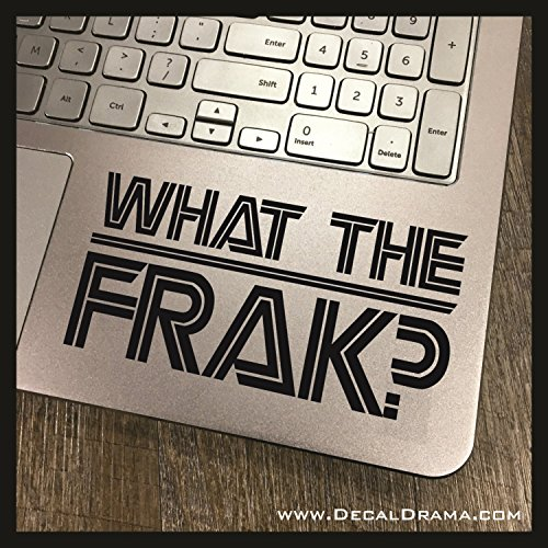 What the FRAK? SMALL Vinyl Decal | Battlestar Galactica for sale  Delivered anywhere in USA