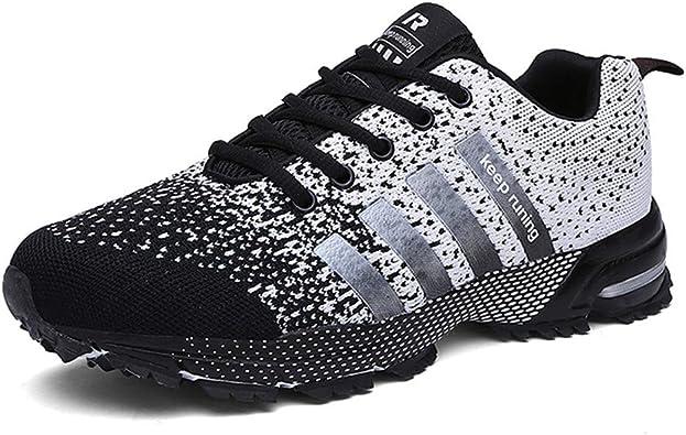 Sollomensi Retwin - Zapatillas deportivas para caminar, con aspecto de piel de serpiente, para hombre y mujer, color Beige, talla 42 EU: Amazon.es: Zapatos y complementos