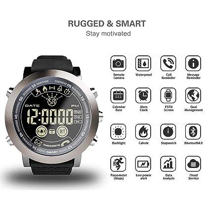 Amazon.com: Rundaotong-US LEMFO IP68 Smart Watch LF23 ...