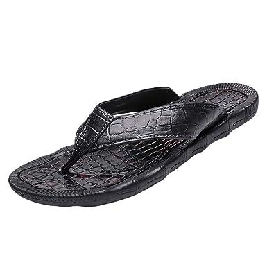 Amazon.com: DENER❤️ Zapatillas de casa para hombre ...