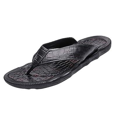 ec86fd14efae Sunyastor Beach Shoes 2019 Fashion Casual Men s Personality Durable Flip-Flops  Non-Slip Lightweight