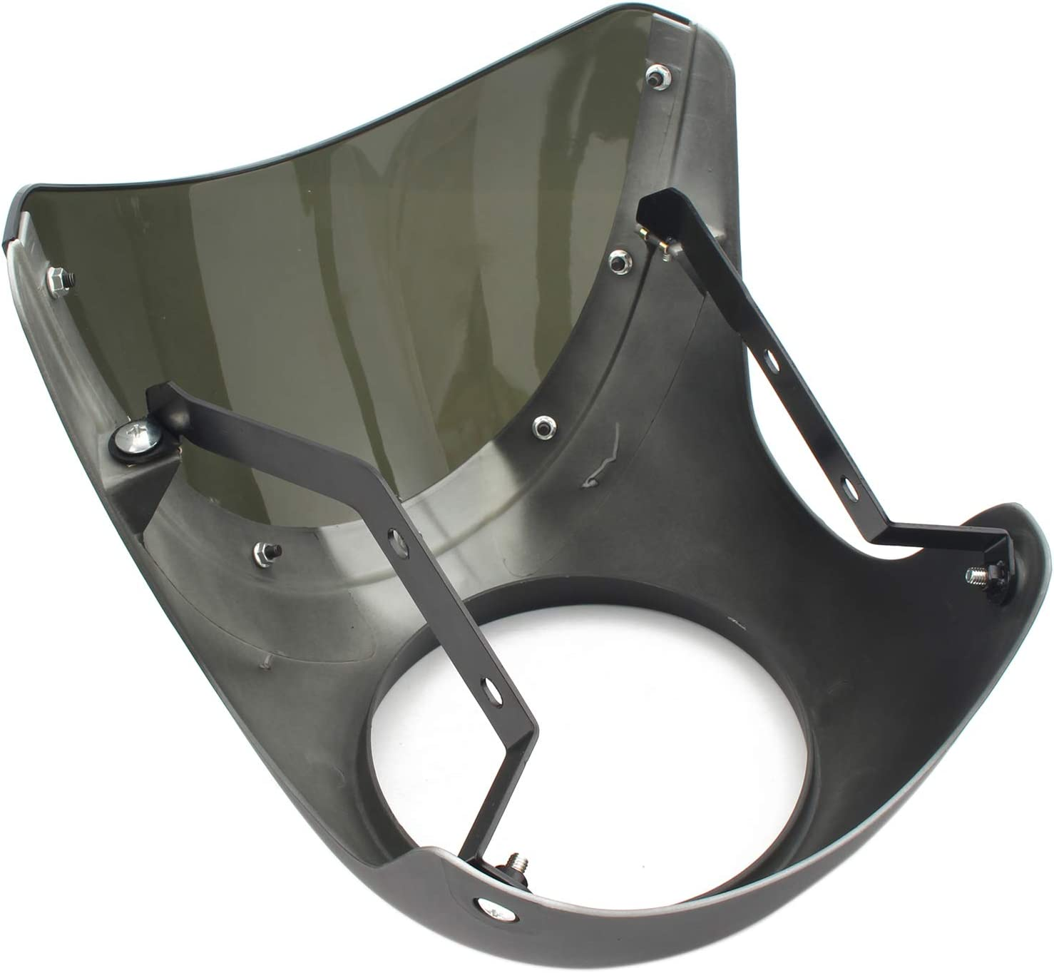 D DOLITY Motorcycle Left /&Right Side View Rear Mirrors Installed On Fairing for Honda