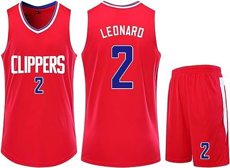 NBA Clippers Kawhi Leonard # 2 - Equipación de Baloncesto para ...