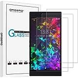 [3 件装] Orzero Razer Phone 2 (2018) 钢化玻璃屏幕保护膜,2.5D 弧边 9 硬度高清防刮无气泡[终身更换保修]