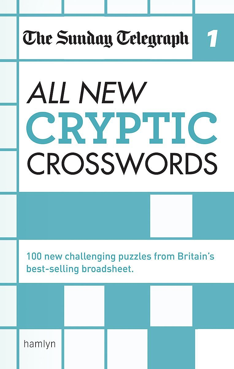 The Sunday Telegraph  All New Cryptic Crosswords 1  The Telegraph Puzzle Books