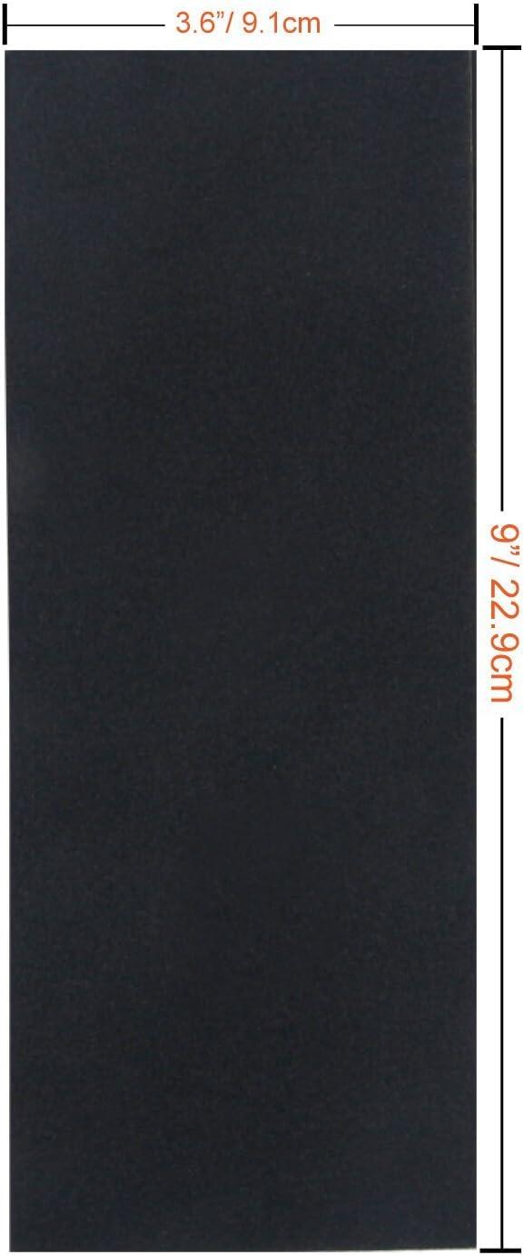 9x3.6 Inch Sanding Sheets for Wood Furniture Finishing Glass Metal Sanding Automotive Polish 1 Hand Sander Sandpaper Variety Pack 120 to 3000 Assorted Grits Sand Paper 24 Pack Sandpaper