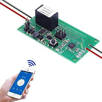 Sichere Spannung WLAN WiFi Wireless Schalter SV Modul DC 5-24 V