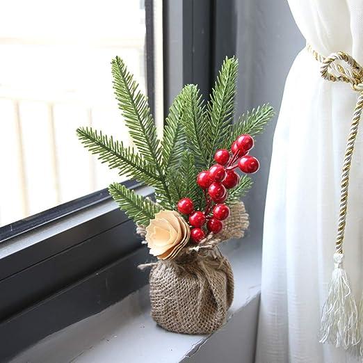 Christmas Desk Decoration Mini Christmas Tree Ornament Christmas Decoration Gift