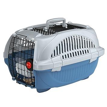 Feplast 73038899W1 Transportín para Gatos y Perros de Talla Pequeña Atlas Deluxe 10 Open, Plástico
