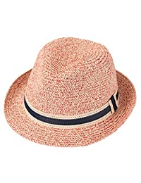 Taylormia Panama Hats for Womens Sun Hat for Summer Foldable Straw Hat 50+ UPF
