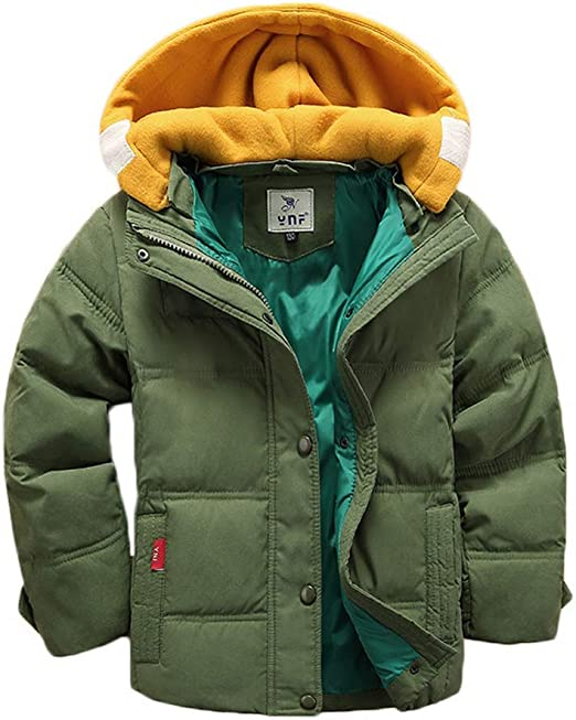 Mallimoda Boys Girls Winter Colorblock Ski Jacket 2-Piece Snowsuit
