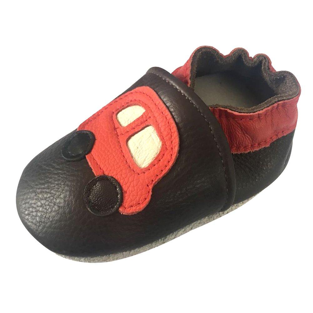 CH/&Q Soft Infant Toddler Baby Prewalker Newborns Slipper Slip-On Walk Crib Shoes