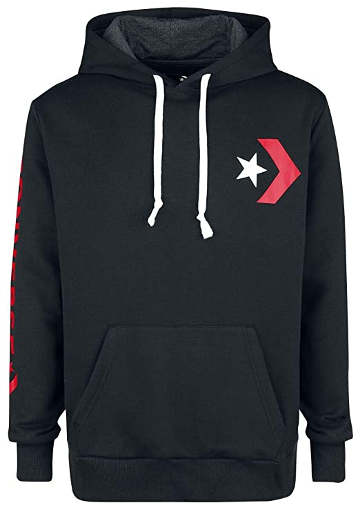 Converse Herren Star Chevron Graphic Pullover Hoodie Kapuzenpullover