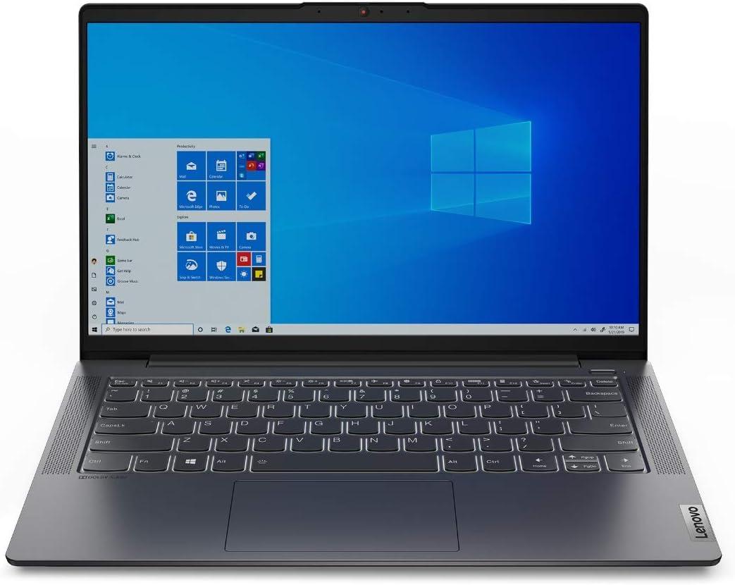 "Lenovo IdeaPad 5 Notebook, Display 14"" Full HD IPS, Processore AMD Ryzen 7 4700U, 512 GB SSD, RAM 8 GB, Windows 10, Graphite Grey"