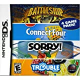 Toys : Battleship/Connect 4/Sorry/Trouble - Nintendo DS