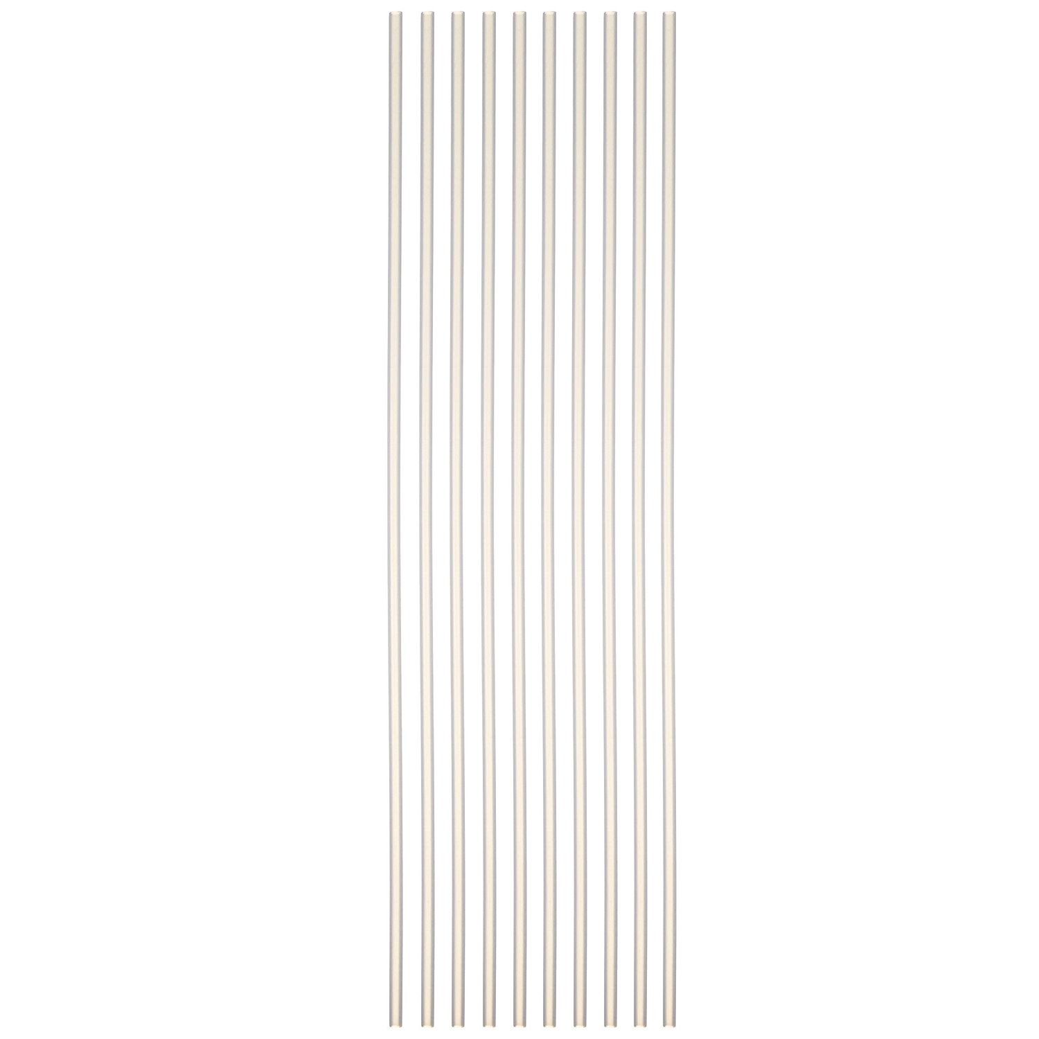 Sammons Preston Reusable 18'' Drinking Straws, Pack of 10 Flexible Long Straws with 3/16'' Diameter Ideal for Drinking from Wine Bottles & Tall Cups, Dishwasher Safe Straws for Smoothies & Thick Liquids by Sammons Preston