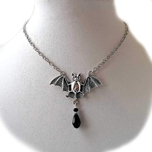 Jewelry & Accessories Necklaces & Pendants Silver Swinging Girl Black Metallic Long Chain Women Necklace The Latest Fashion