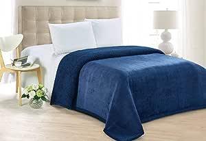 Hours Soft Fur Blanket, King Size 200X220 cm, -19, Faux Fur